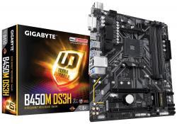 Płyta główna B450M DS3H AM4 B450 4DDR4 DVI/HDMI/M.2 uATX