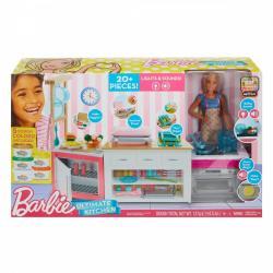 Mattel Lalka Barbie zestaw Idealna kuchnia