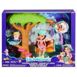 Mattel Lalka Enchantimals + plac zabaw