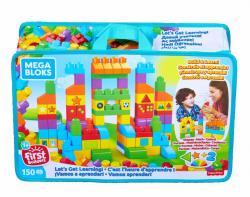 Mega Bloks Klocki Torba 150 elementów - Czas na naukę