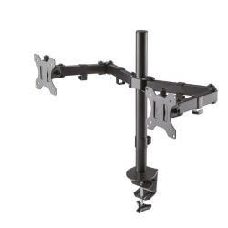 Uchwyt biurkowy na dwa monitory 10-32 FPMA-D550DBLACK