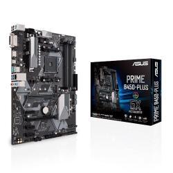 Płyta Główna PRIME B450-PLUS AM4 4DDR4 DVI/HDMI/M.2 ATX