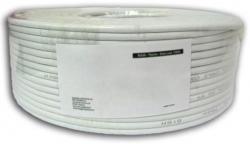 Kabel instalacyjny skrętka U/UTP Cat5e 4x2 linka CCA 100m szary
