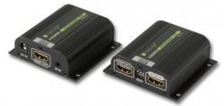Extender wzmacniacz HDMI po skrętce Cat6/6a/7 do 40m 1080p FullHD EDID