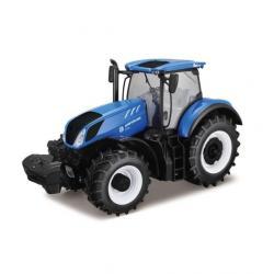 Bburago Model Traktor New Holland Farm T7