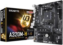 Płyta główna GA-A320M-H AM4 2DDR4 DVI/HDMI/USB 3.1 M.2 micro ATX