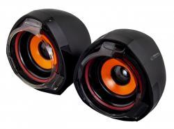 Głośniki 2.0 USB RUMBA
