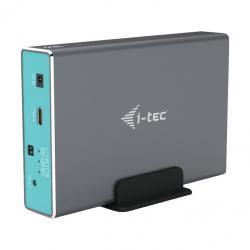 Obudowa zewnętrzna na dysk 2 x 2.5 MySafe USB-C 3.1 Gen.2/USB 3.0 SATA HDD/SSD