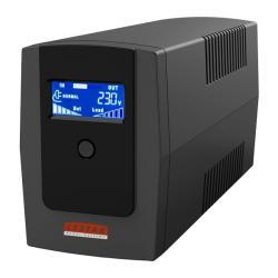 Zasilacz awaryjny UPS MEL-855u 850VA/510W AVR LCD 4xIEC USB RJ11
