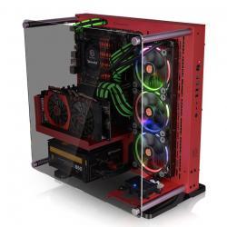 Obudowa Core P3 Tempered Glass - Red