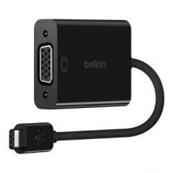 Adapter przejsciówka USB-C do VGA 15cm czarny