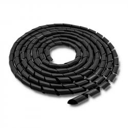 Organizer do kabli 20mm, 10m, czarny