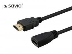 Elmak Przedłużacz HDMI v1.4 kabel CL-132 Savio 1m