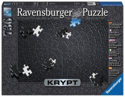 Ravensburger Puzzle 736 elementów Krypt czarny