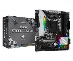 Płyta główna B450M Steel Legend AM4 4DDR4 HDMI/DP uATX