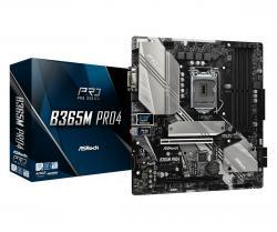 Płyta główna B365M Pro4 s1151 4DDR4 s1151 4DDR4 HDMI/DVI UATX