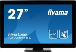 Monitor 27 T2736MSC-B1 AMVA, 10pkt, pojemnościowy, HDMI, DP, USB