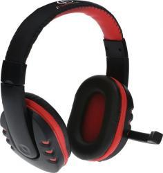Słuchawki stereofoniczne PC Rohan, z mikrofonem, 2x mini jack 3,5mm (in/out)