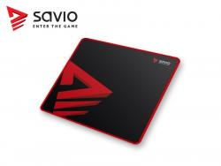 Podkładka pod mysz gaming SAVIO Turbo Dynamic S 250x250x2mm, obszyta
