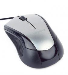 Mysz optyczna czarno-szara