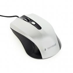 Mysz optyczna USB czarno-srebrna