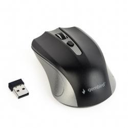 Bezprzewodowa mysz optyczna szaro-czarna