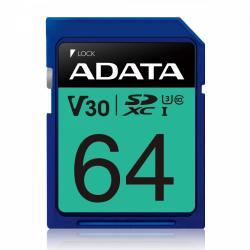 Karta pamięci SDXC PremierPro 64GB UHS-I U3 V30 100/80 MB/s
