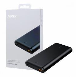 PB-XD26 Black ultraszybki Power Bank | 26800 mAh | 2xUSB | 6A | Quick Charge 3.0 | Power Delivery | kabel USB-C