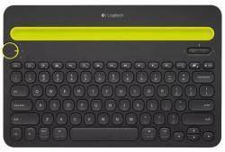 Klawiatura K480 Bluetooth Czarna 920-006366