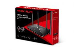 Router Mercusys AC12G AC1200 1xWAN 3xLAN-1Gb