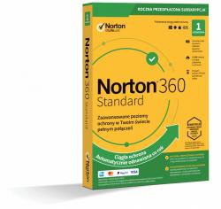 Norton 360 Standard 10GB PL 1 użytkownik, 1 urządzenie, 1 rok 21395085