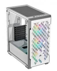 Obudowa Crystal 220T RGB, szkło hartowane, ATX, biała