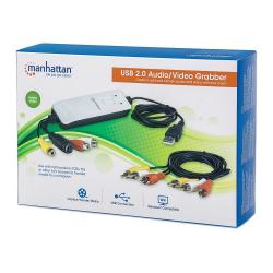Grabber Audio/Video Hi-Speed USB 2.0, NTSC/PAL/SECAM