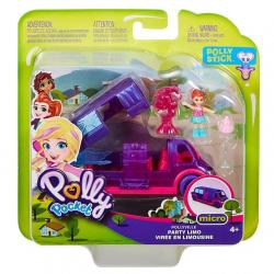 Mattel Zestaw figurek Polly Pocket Pollyville Limuzyna