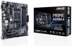 Płyta główna PRIME A320M-A AM4 4DDR4 USB3/HDMI/DVI/D-SUB mATX