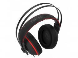 Słuchawki TUF Gaming H7 Core z mikrofonem MiniJack PC/MAC/PS4/ Xbox One/Nintendo Switch czerwone