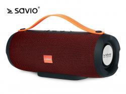 Bezprzewodowy Głośnik Bluetooth SAVIO BS-022 czerwony