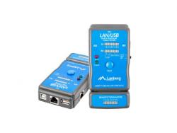 LANBERG Tester kabli RJ-45, 11 USB NT-0403