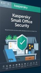 *Kaspersky Small Office Security 5 stacji + 1 Serwer 1 rok