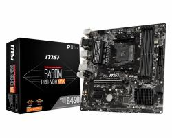 Płyta główna B450M PRO-VDH MAX AM4 4DDR4 DVI/VGA/HDMI uATX
