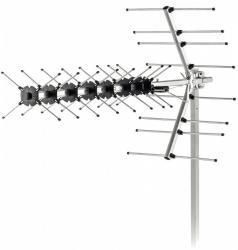 Antena zewnętrzna SDA 611 DVB-T2/T Zysk 12dB,Imp 75OHm, 4G LTE