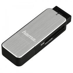 Czytnik kart SD/microSD USB 3.0 srebrny