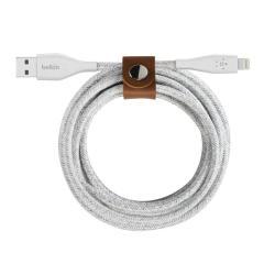 Kabel Lightning do USB-A DuraTek Plus 1.2 m biały