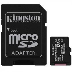 Karta pamięci microSD 128GB Canvas Select Plus 100MB/s Adapter