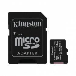 Karta pamięci microSD 64GB Canvas Select Plus 100MB/s Adapter