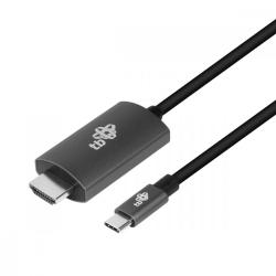 Kabel HDMI 2.0V - USB 3.1 typ C 60HZ alum.