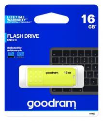 Pendrive UME2 16GB USB 2.0 Żółty