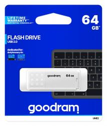 Pendrive UME2 64GB USB 2.0 Biały