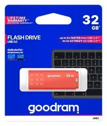 Pendrive UME3 32GB USB 3.0 Pomarańczowy