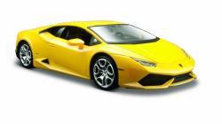 Model kompozytowy Lamborghini Huracan coupe zółty 1/24